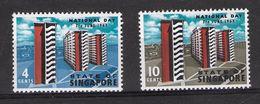 EDY 424 - SINGAPORE 1963 ,  Due Valori Integri  *** - Singapore (1959-...)