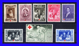 1939 - Belgica - Sc. B 233 - B 240 - MLH-  BE-200 - 02 - Neufs