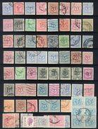 D13 - Belgium - Value On Heraldic Lion - Lot Used - 1951-1975 Heraldic Lion
