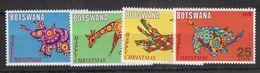 EDY 432 - BOTSWANA 1970 , Quattro Valori Integri  ***  Natale Christmas - Botswana (1966-...)