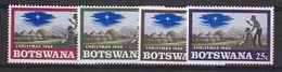 EDY 433 - BOTSWANA 1968 , Quattro Valori Integri  ***  Natale Christmas - Botswana (1966-...)