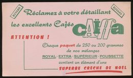 Buvard - CAIFFA - Excellents Cafes - Buvards, Protège-cahiers Illustrés