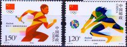 CHINA  2016-20   -  Games Of The XXXI Olympiad Rio 2016 - Men`s Relay - Woman`s Volleyball  - Mnh - Zomer 2016: Rio De Janeiro