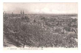 CPA 50 Saint Lo LL No.1 Vue Generale Prise De La Falaise Achatez Immédiat - Saint Lo