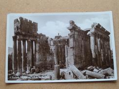 BAALBEK Façade Du Temple De Bacchus ( 11 - Wakim Awad ) Anno 19?? ( Details Zie Foto´s ) !! - Liban