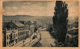Omladinska Knjizara Sarajevo (tram, Tramway, 1954 Mendoza Argentino, Stamps) - Bosnie-Herzegovine