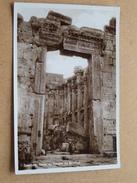 BAALBEK Porte Du Temple De Bacchus ( 12 - Wakim Awad ) Anno 19?? ( Details Zie Foto´s ) !! - Liban