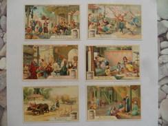 """(Chromos LIEBIG.....) -  Série Complète De 6 Images  """" En Turquie """" ...........voir Scans - Liebig"""