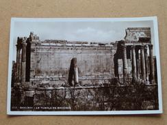 BAALBEK Le Temple De Bacchus ( 262 ) Anno 19?? ( Details Zie Foto´s ) !! - Liban
