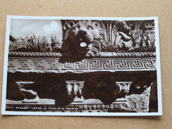 BAALBEK Detail Du Temple De Jupiter ( 250 ) Anno 19?? ( Details Zie Foto´s ) !! - Liban