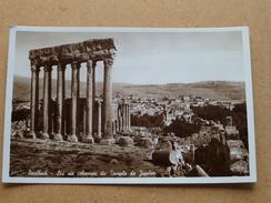 BAALBEK Les Six Colonnes Du Temple De Jupiter ( 582 ) Anno 19?? ( Details Zie Foto´s ) !! - Liban