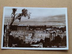 BAALBECK Panorama ( 584 ) Anno 19?? ( Details Zie Foto´s ) !! - Liban