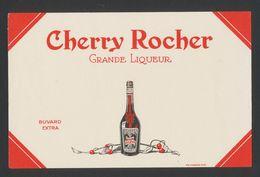 Buvard - CHERRY ROCHER - Grande Liqueur - Buvards, Protège-cahiers Illustrés