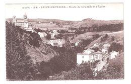 CPA 63 Saint Nectaire ROUTE DE LA VALLEE ET L'EGLISE Achatez Immédiat - Saint Nectaire