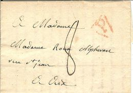 AIX EN PROVENCE MADAME ROUX ALPHERAN 20 FLOREAL AN 10  10MAI 1802 - 1801-1848: Précurseurs XIX