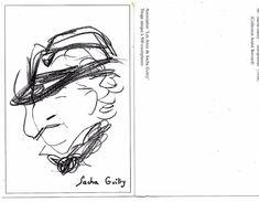 SACHA GUITRY  AUTOPORTRAIT 1938 - Association Les Amis De Sacha Guitry - Collection André BERNARD - Artistas