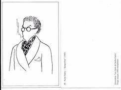 SACHA GUITRY  AUTOPORTRAIT 1945 - Association Les Amis De Sacha Guitry - Collection André BERNARD - Artistas