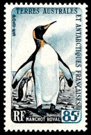 TAAF 1960 - Yv. 17 ** SUP  Cote= 32,50 EUR - Manchot Royal  ..Réf.TAF20714 - French Southern And Antarctic Territories (TAAF)