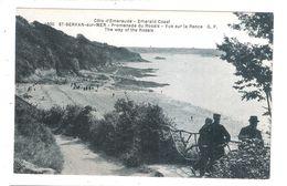 CPA 35 SAINT SERVAN SUR MER Promenade Du Rosais Vue Sur La Rance Achatez Immédiat - Saint Servan