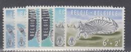 BELGIUM MNH``COB 1133/38 PARACHUTISME - Unused Stamps