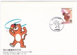 Korea Cover 1988 Seoul Olympic Summer Games (DD2-16) - Summer 1988: Seoul