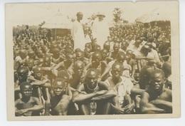 AFRIQUE - OUGANDA - CATECHISME - Cliché Représentant Le Mgr ANTONIO VIGNATO Parmi Les Indigènes En Juillet 1926 - Oeganda