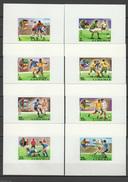 Liberia 1974 Football Soccer World Cup Set Of 8 S/s Imperf. MNH -scarce- - Coppa Del Mondo