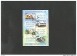 RUSSIA 2012 W. Olympics Sheet  USED - 1992-.... Federation