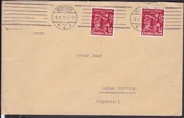 Brief Stempel München 1935 Nr. 599 - Briefe U. Dokumente