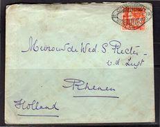 Cheribon Seint Via Radio 1935 W. Rechter Kedjaksan 64  To Rhenen (i89) - Nederlands-Indië