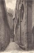 143. AVIGNON . PALAIS DES PAPES . INTERIEUR . CHEMIN DE RONDE . NON ECRITE - Avignon (Palais & Pont)