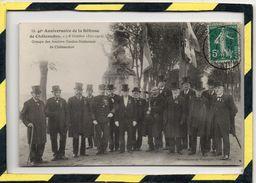 40e ANNIVERSAIRE DE LA DEFENSE DE CHÂTEAUDUN . - . GROUPE DES ANCIENS GARDES-NATIONAUX - Chateaudun