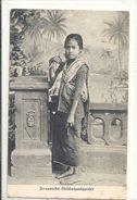 Ned.Indie -Javaansche Geldwisselaarster - Indonesien