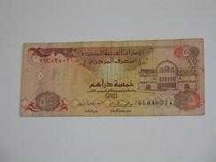 5 FIVE Dirhams - United Arab Emirates Central Bank - Emirats Arabes Unis **** EN ACHAT IMMEDIAT **** - Emirats Arabes Unis