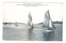 CPA 35 SAINT SERVAN SUR MER Embouchure De La Rance Yachting Yachts Achatez Immédiat - Saint Servan