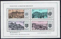 Ungarn Hungaria 1971 - Budapest - MiNr Block 79 (2650-2653) - Ungarn