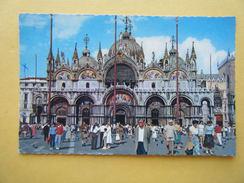 La Basilique Saint Marc. - Venezia