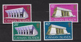 EDY 455 - CAYMAN ISLANDS , Quattro  Valori INTEGRI  *** - Cayman (Isole)