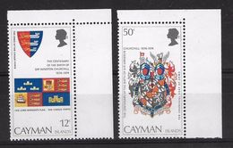 EDY 460 - CAYMAN ISLANDS 1974 , Due  Valori INTEGRI  ***  CHURCHILL - Cayman (Isole)