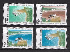 EDY 458 - SAMOA SISIFO 1966 , Quattro  Valori Integri  *** - Samoa