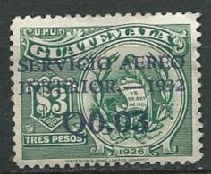 Guatémala Aérien Yvert N°20 (*)   - Ad30624 - Guatemala