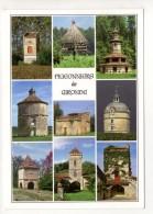 CP 10*15-IP155-PIGEONNIERS DE GIRONDE MULTIVUES - Autres Communes