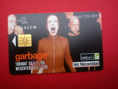 Garbage Phonecard T.W 1998 Rare - Posters