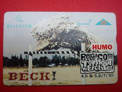 Beck Phonecard Rock Werchter Outdoor Festival 1997 Rare - Plakate & Poster