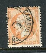 Rare N° 23 Cachet Espagnol Admon De Cambio - Signé Calves ! - 1862 Napoleon III