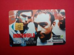 Under World Phonecard  Outdoor Festival 1998 Rare - Posters