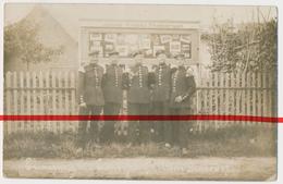 Original Foto - Altengrabow Bei Dörnitz Und Möckern - Soldaten Vor Schaukasten Von Fotograf Julius Graetz - 1907 - Sonstige