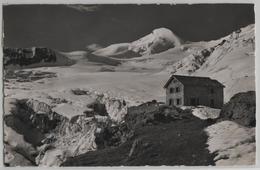 Saas-Fee - Berggasthaus Langefluh, Allainhorn, Feegletscher - Photo: E. Gyger No. 12681 - VS Valais