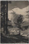 Saas-Fee - Alphubel, Feegletscher - Photo: E. Gyger No. 6496 - VS Valais