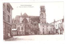CPA 54 TOUL St-Gengoult  Place Du Marché Achatez Immédiat - Toul